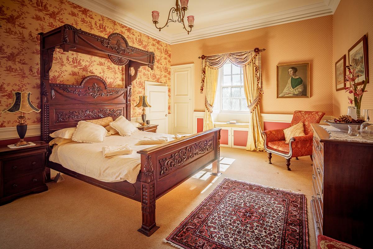 Pitcairlie House Wedding Bedroom